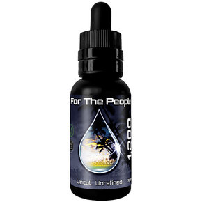 CBD For the People | DARK CBD OIL TINCTURE | 1200mg | 4 FLAVORS |