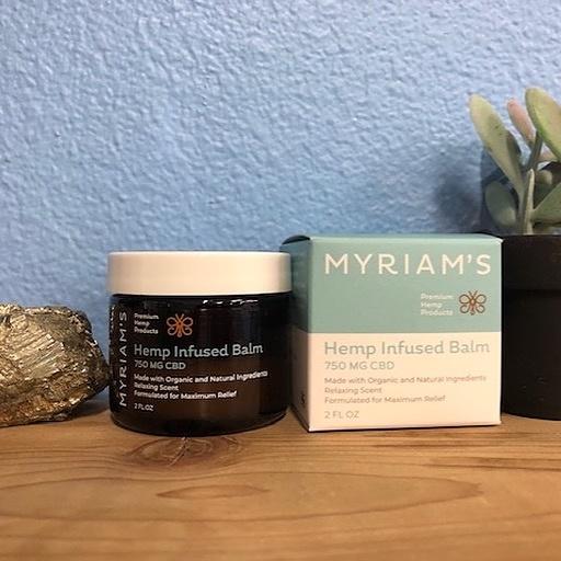Myriam's Hemp | MYRIAM'S HEMP | 750MG CBD BALM | 2oz |