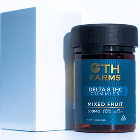 Georgetown Hemp GTH | DELTA 8 GUMMIES | MIXED FRUITS | 25mg & 50mg Per Gummy