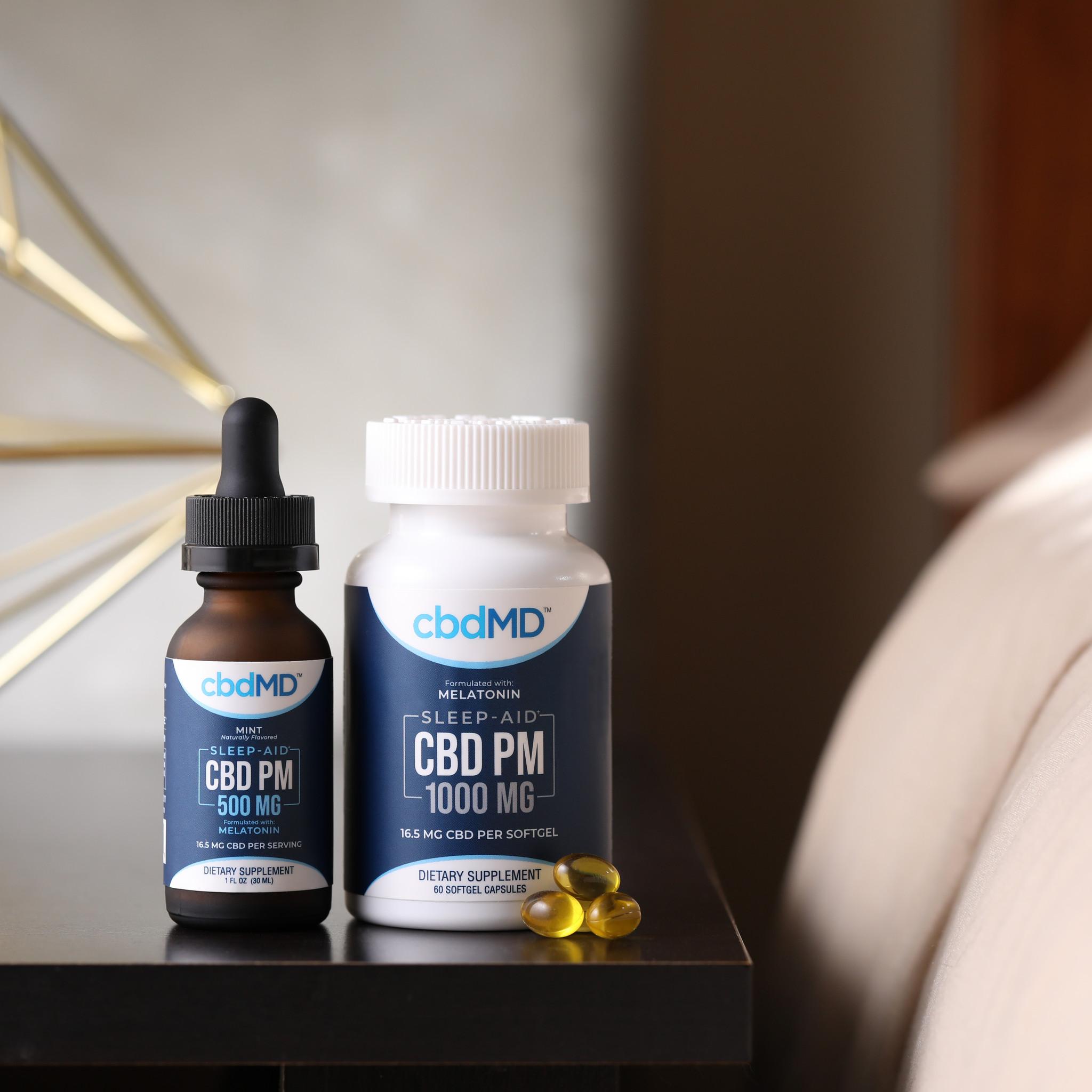 cbdMD | cbdMD FOR SLEEP | TINCTURES | 2 LEVELS |