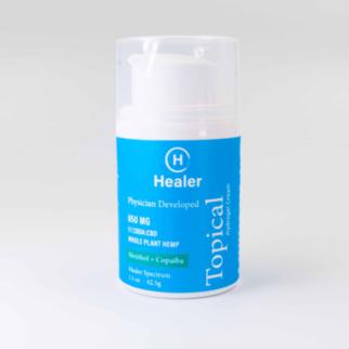 Healer | HEALER | HYDROGEL CREAM | 1:1 CBDA:CBD | 850mg