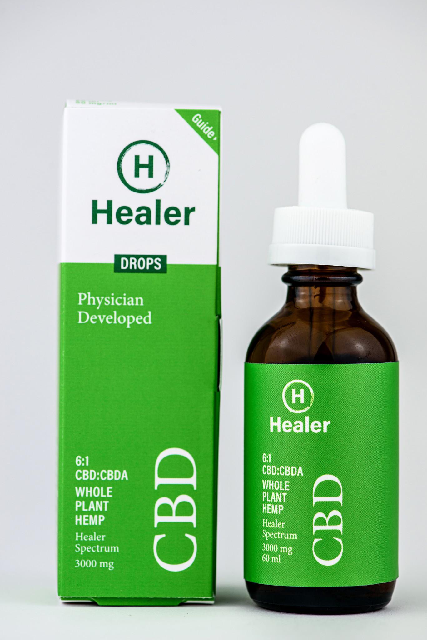 Healer   HEALER   CBD:CBDA 6:1   4 OPTIONS