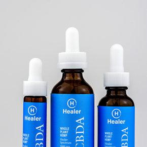 Healer | HEALER | WHOLE PLANT HEMP | CBDA | 4 OPTIONS |