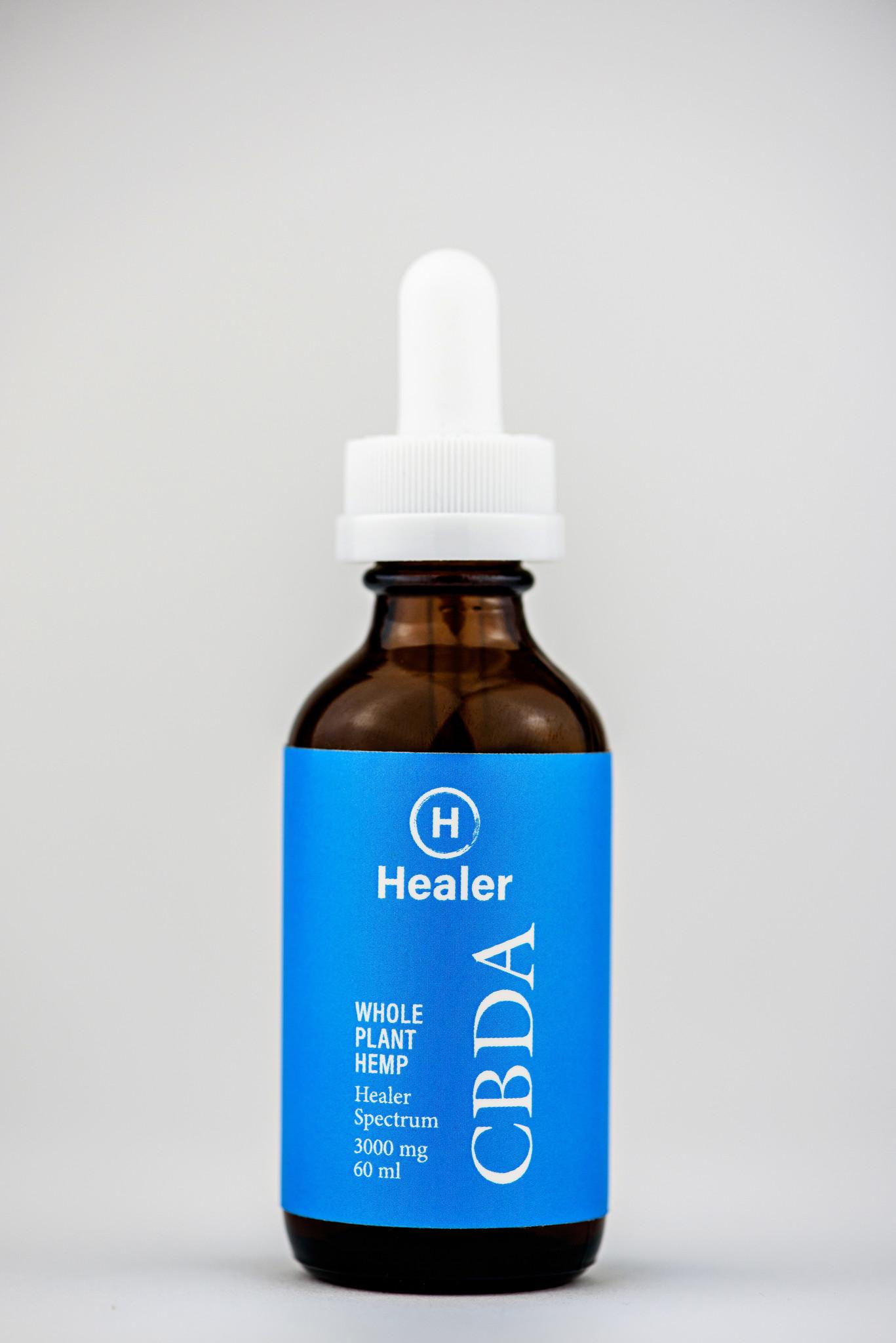 Healer   HEALER   WHOLE PLANT HEMP   CBDA   4 OPTIONS  