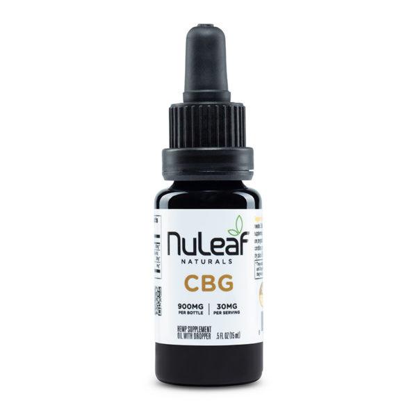 NuLeaf Naturals   FULL SPECTRUM CBG OIL   900mg to 1800mg  
