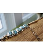 Turquoise Toggle Bracelet