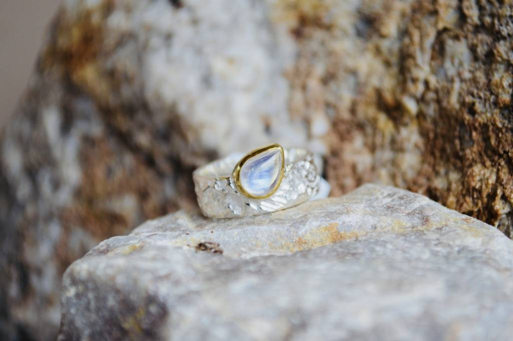 Moonstone Ring - size 9