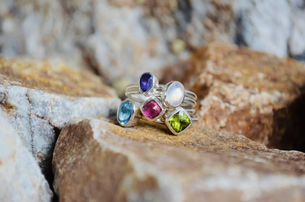 Multi Stone Ring - size 9