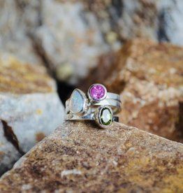 Multi Stone Ring - size 7