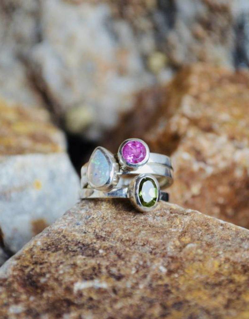 Multi Stone Ring - size 7