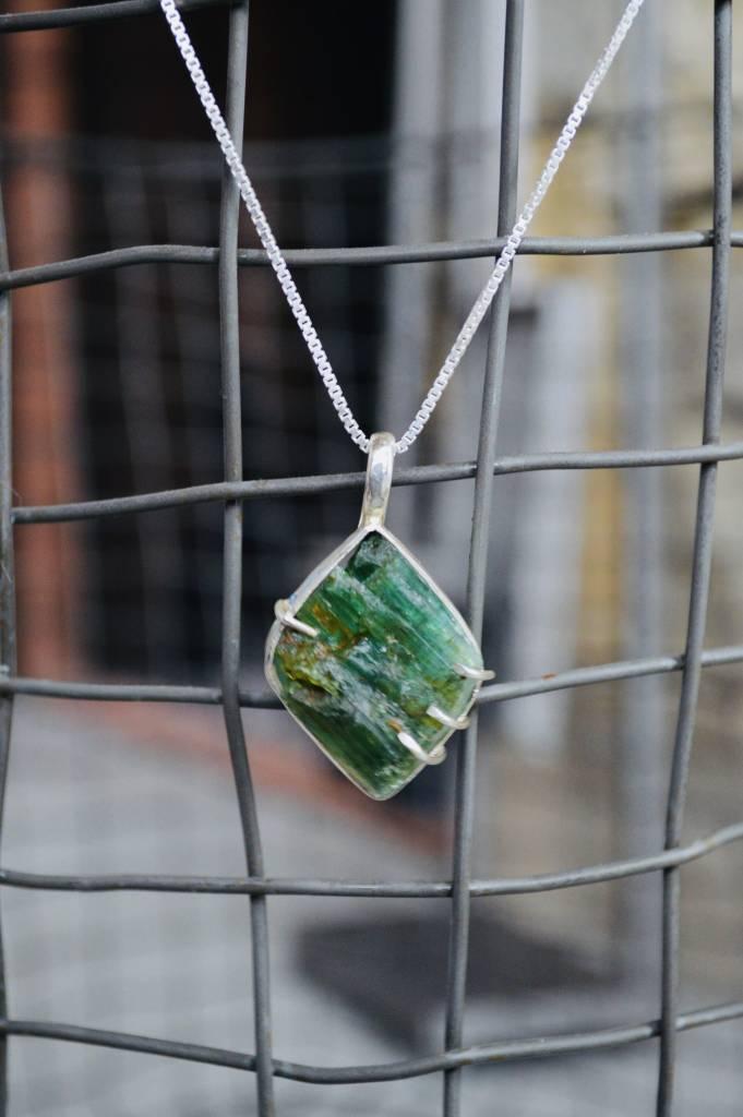 Tourmaline Pendant & chain