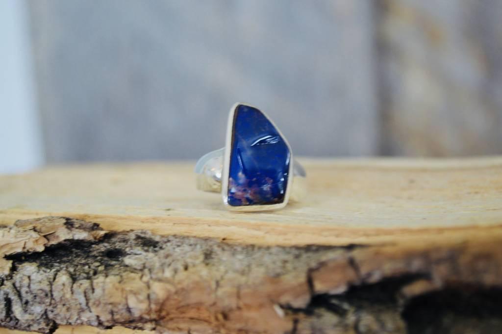 Boulder Opal Ring - size 8