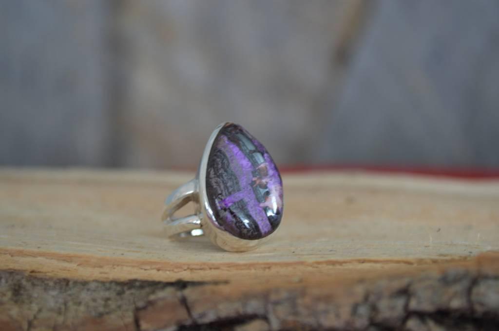 Sugilite Ring - size 6.5