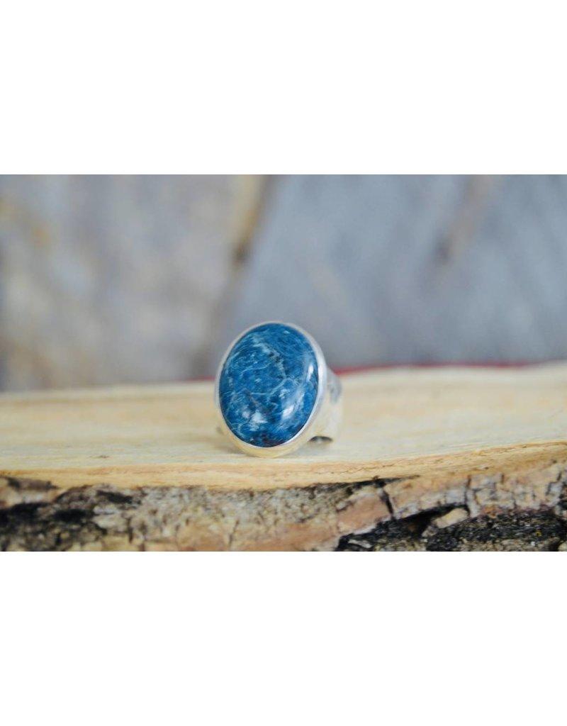 Azurite Malichite Ring - size 8