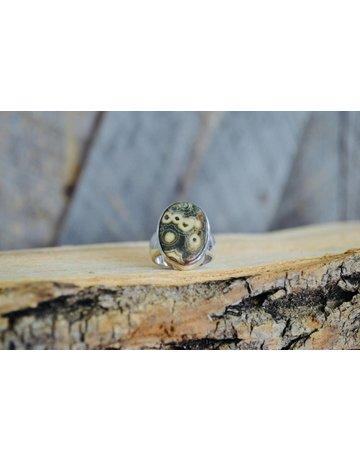 Ocean Jasper Ring - size 6.5