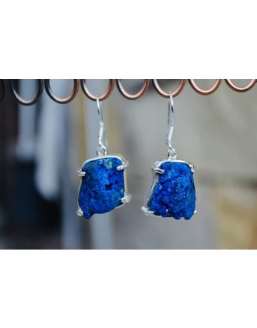 Azurite Earrings