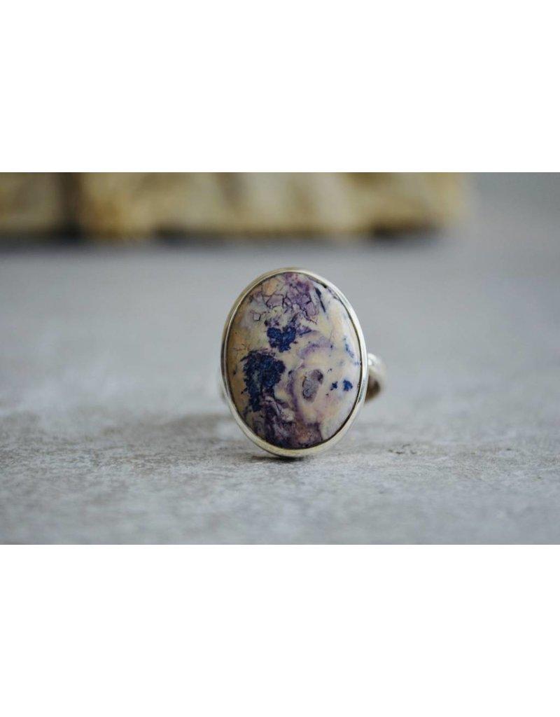 Tiffany Jasper Ring - size Adj