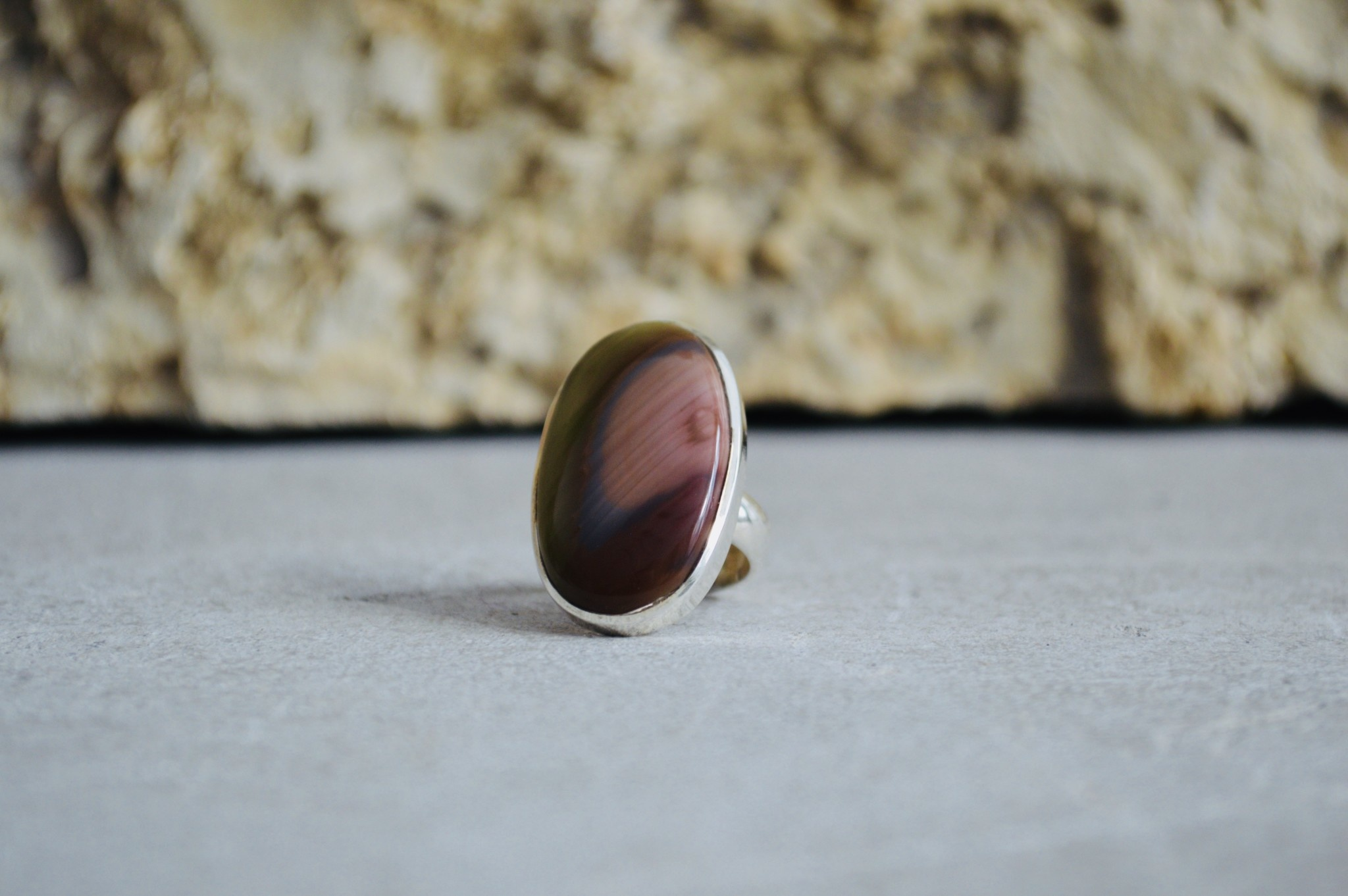 Imperial Jasper Ring -  size 5