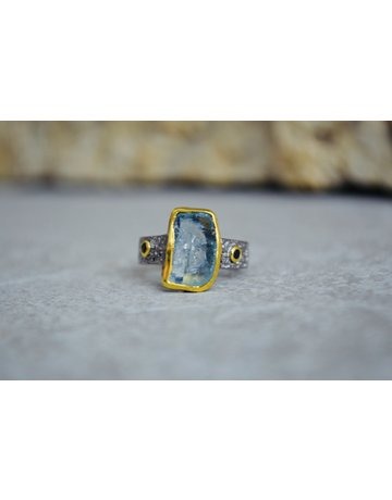 Aquamarine Ring - size 7