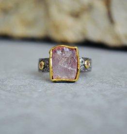 Rose Quartz Ring - size 8