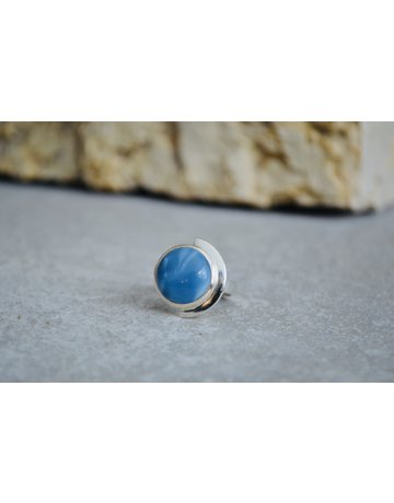 Blue Opal Ring - size 9