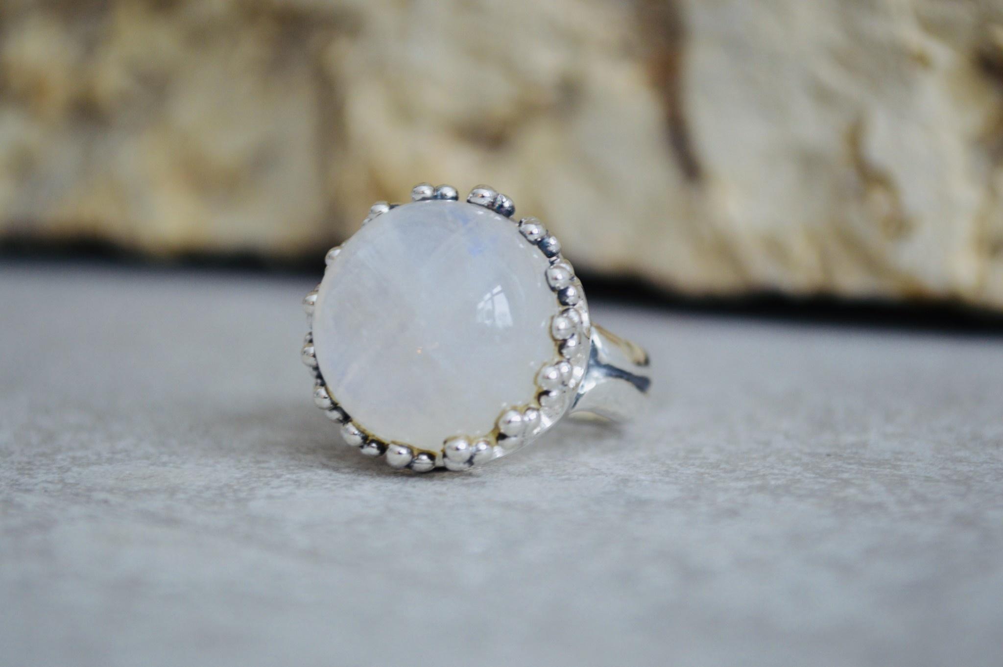 Moonstone Ring - size 8