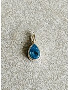 London Blue Topaz Tear Drop Pendant
