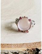 Branch Rose Quartz Ring - Size 7