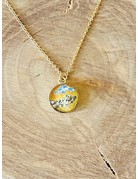Rebel Nell Amy Gold Necklace