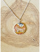 Rebel Nell Nicole Sterling Necklace