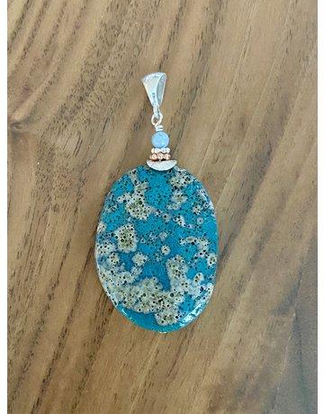 Leland Blue Pendant