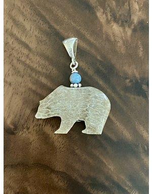 Sleeping Bear Petoskey Stone w/Leland Bail