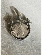 Roman Coin - Valerian I. AR Antoninianus Pendant