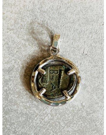 Roman Alexander Denariu Silver Coin 220-190 BC