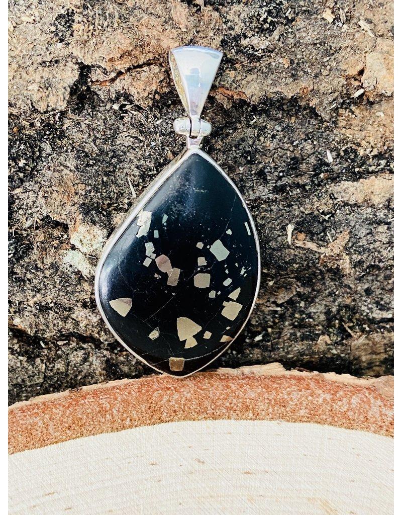 Pyrite in Schist Pendant