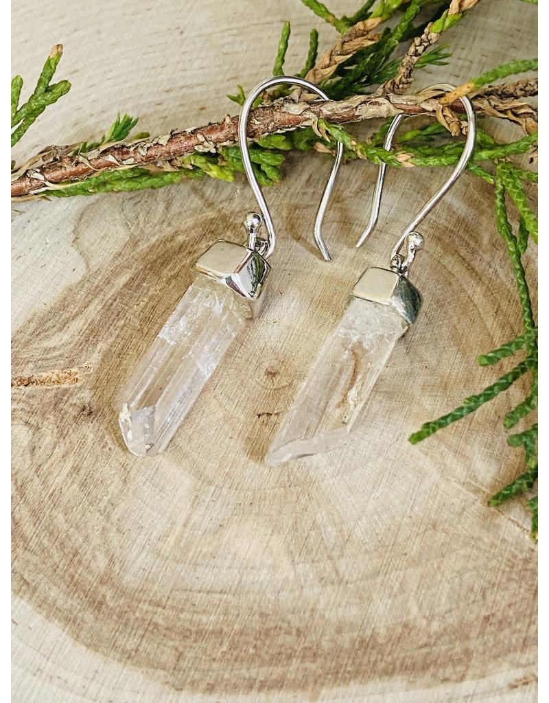 Danburite Crystal Earrings