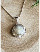 Pearl Double Sterling Necklace