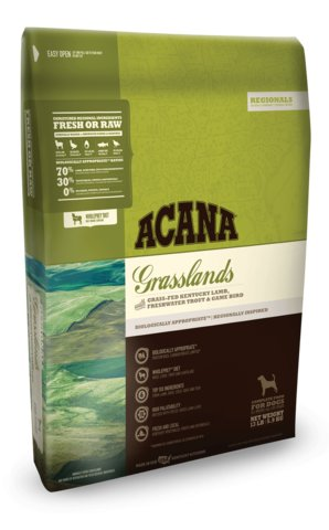 Acana Grasslands Regional Formula Grain-Free Dog Food