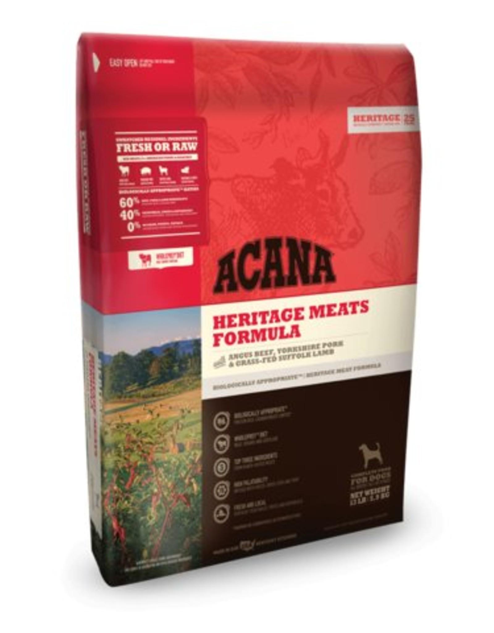 Acana Heritage Meats Formula Grain-Free Dog Food