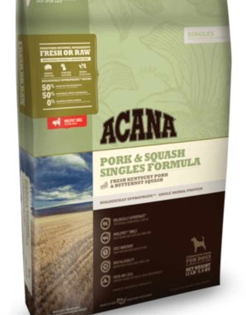 Acana Pork & Squash Singles Formula Grain-Free Dog Food