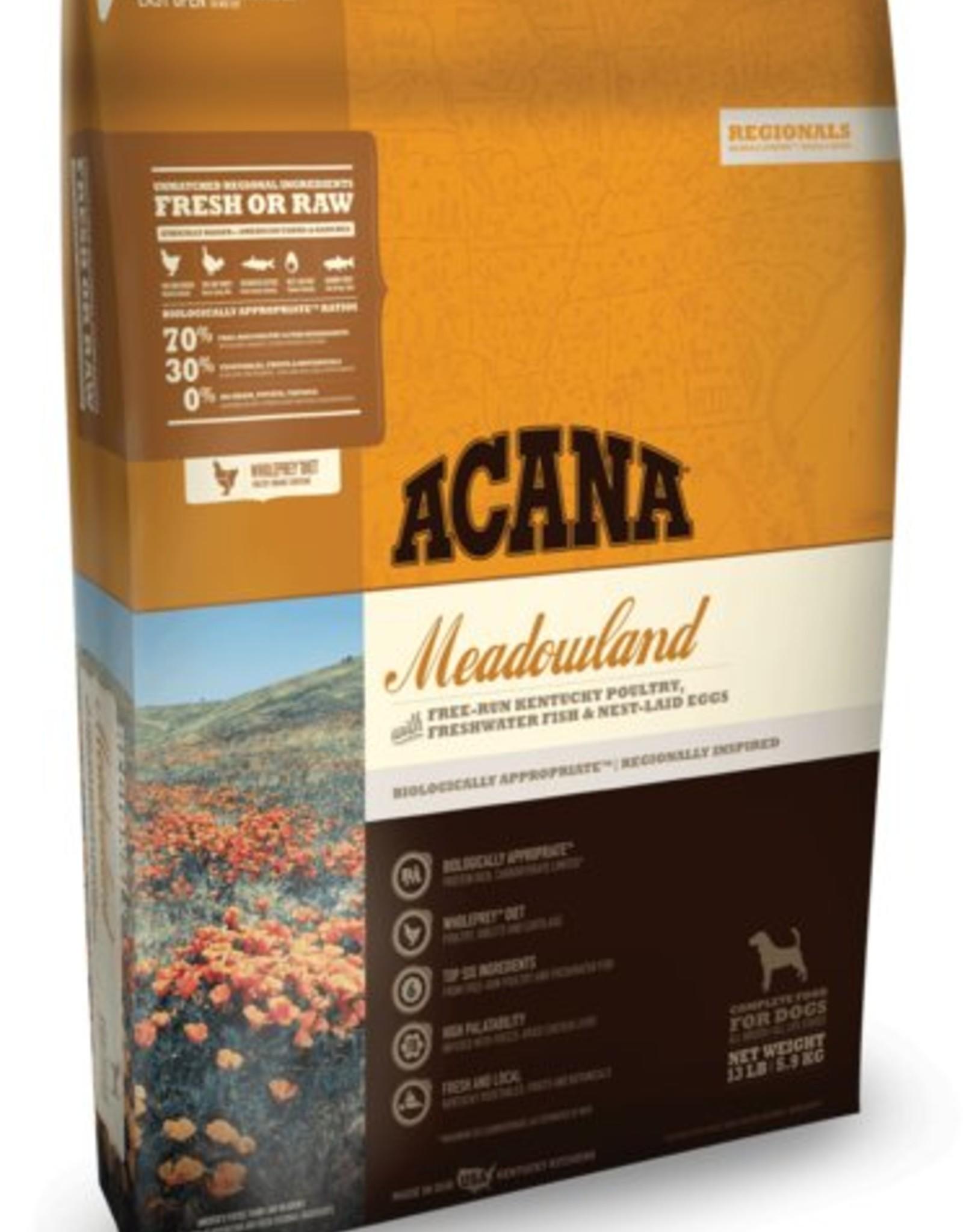 Acana Meadowland Regional Formula Grain-Free Dog Food