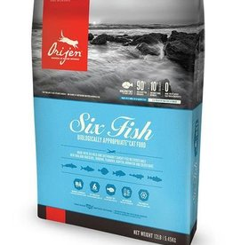 Orijen Six Fish Grain-Free Formula Dry Cat Food
