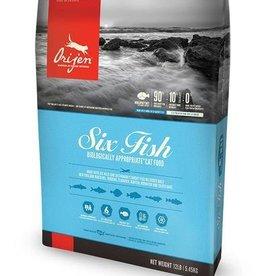 Orijen Six Fish Grain-Free Formula Dry Cat Food