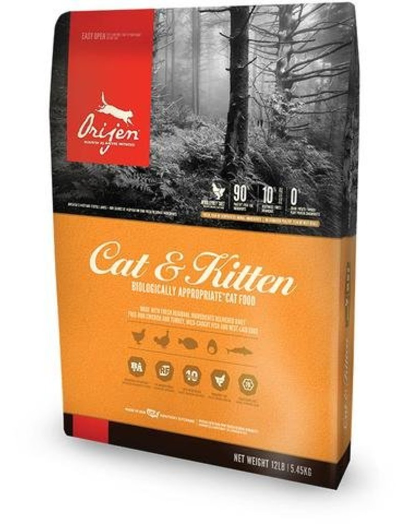 Orijen Cat & Kitten Grain-Free Formula Dry Cat Food