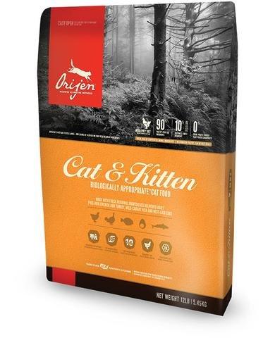Orijen Cat & Kitten Grain-Free Formula Dry Cat Food