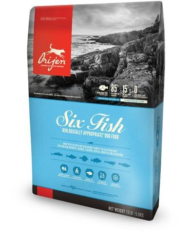 Orijen Six Fish Grain-Free Formula Dry Dog Food