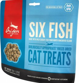 Orijen Six Fish Cat Treats, 1.25 oz.