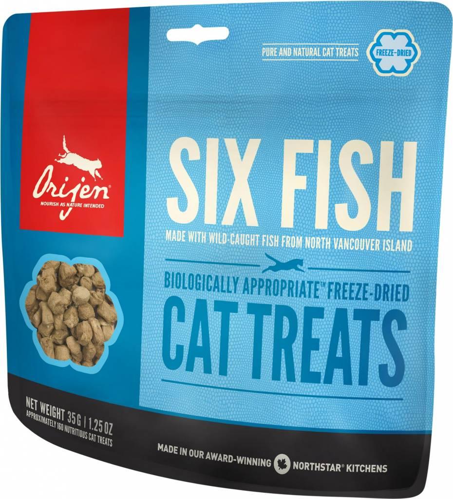 Orijen Six Fish Cat Treats, 1.25 oz.