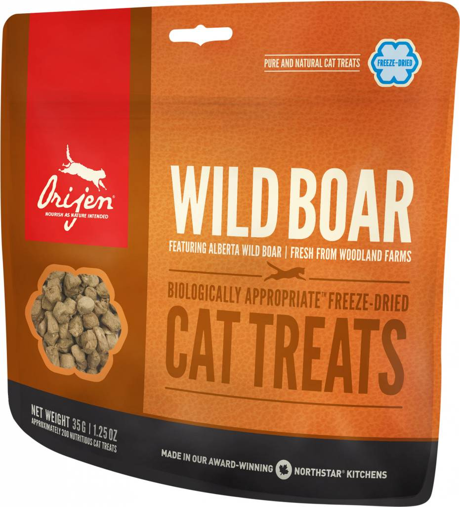 Orijen Wild Boar Cat Treats, 1.25 oz.