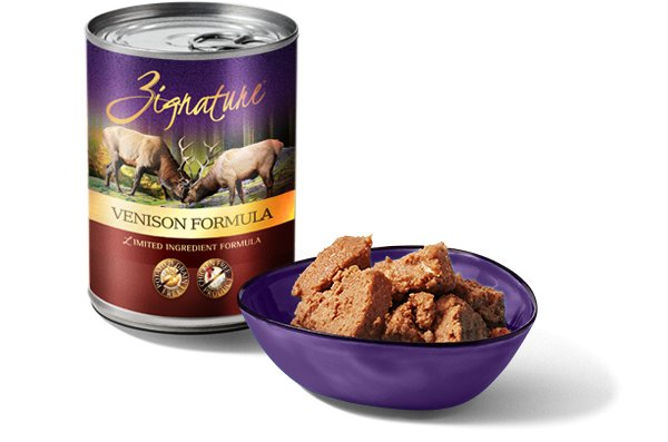 Zignature Venison Limited Ingredient Formula Grain-Free Wet Dog Food, 13 oz.
